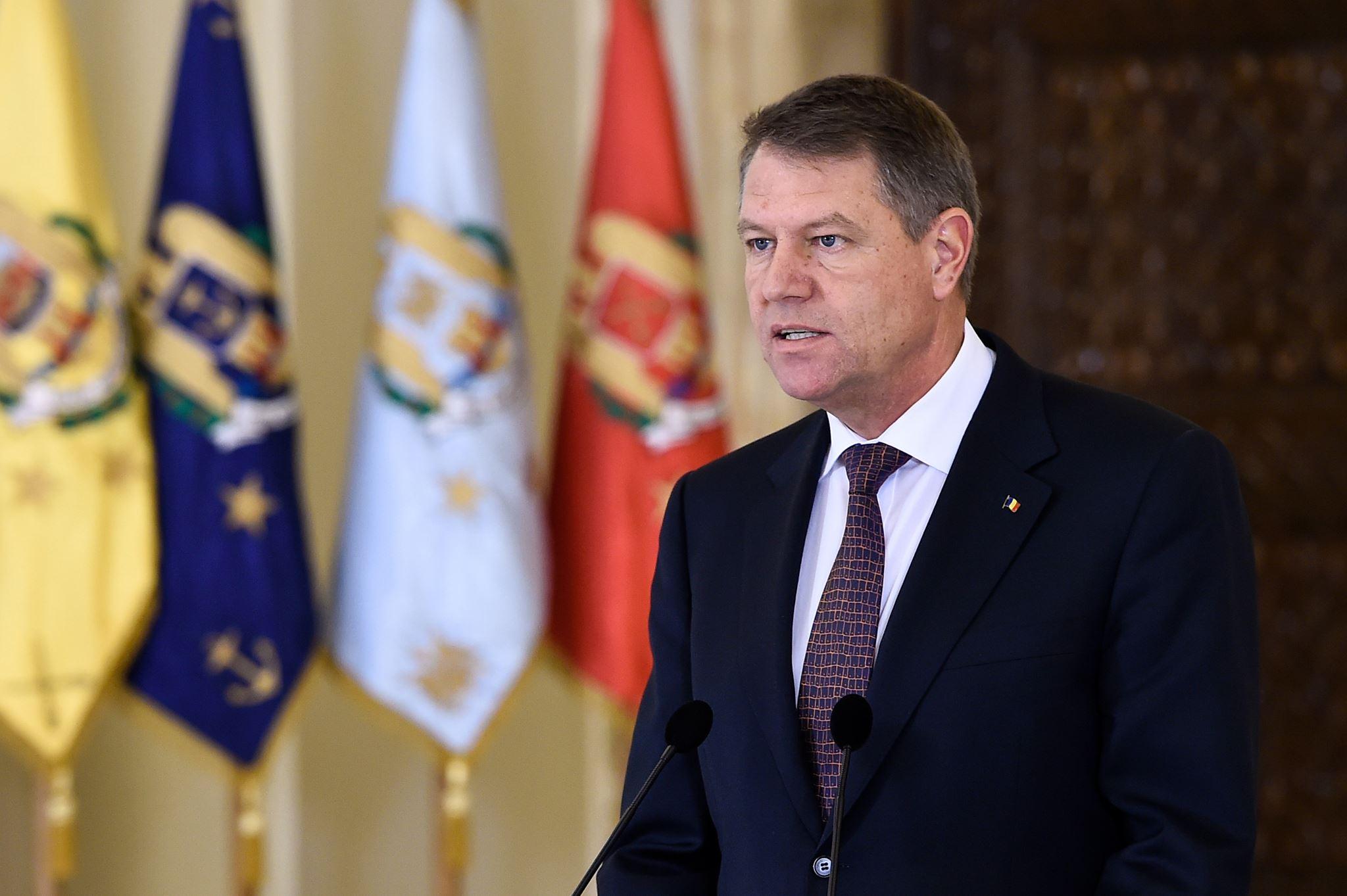 Presedintele Romaniei Klaus Iohannis