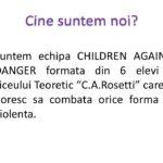 2 Campania Viata fara Violenta 2015 - Liceul Teoretic C.A. Rosetti