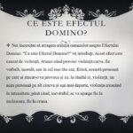 3 Campania Viata fara Violenta 2015 - EFECTUL DOMINO - Liceul Teoretic C.A. Rosetti