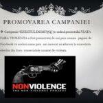 4 Campania Viata fara Violenta 2015 - EFECTUL DOMINO - Liceul Teoretic C.A. Rosetti