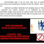 8 Campania Viata fara Violenta 2015 - Liceul Teoretic C.A. Rosetti