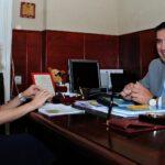 10  Foto-interviu Dl. prof. Ionel Florian Lixandru - Inspector Scolar General - ISMB
