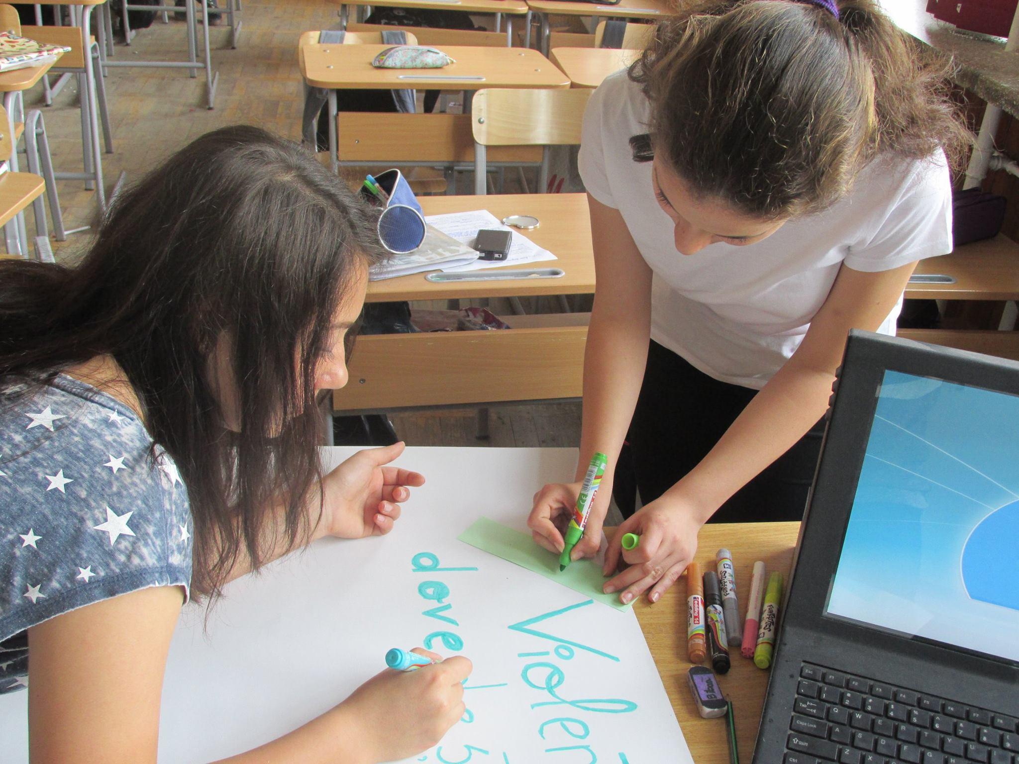 14 Proiect Viata fara Violena - Ana Hristea - clasa a-IX-a B – Colegiul National Mihai Eminescu