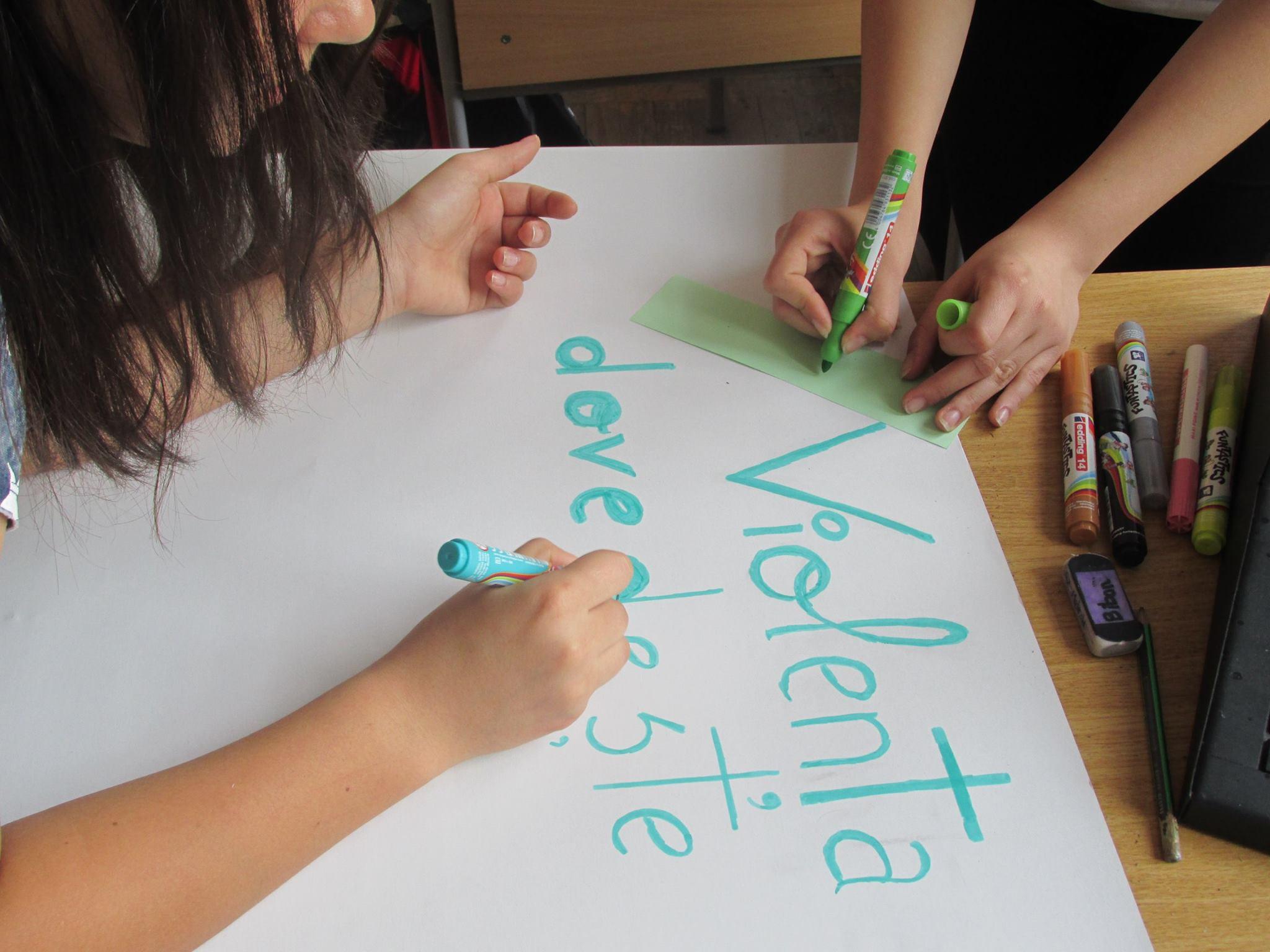 15 Proiect Viata fara Violena - Ana Hristea - clasa a-IX-a B – Colegiul National Mihai Eminescu