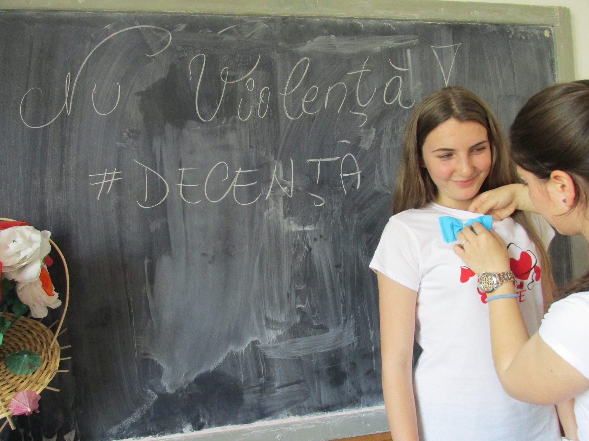 16 Proiect Viata fara Violena - Ana Hristea - clasa a-IX-a B – Colegiul National Mihai Eminescu