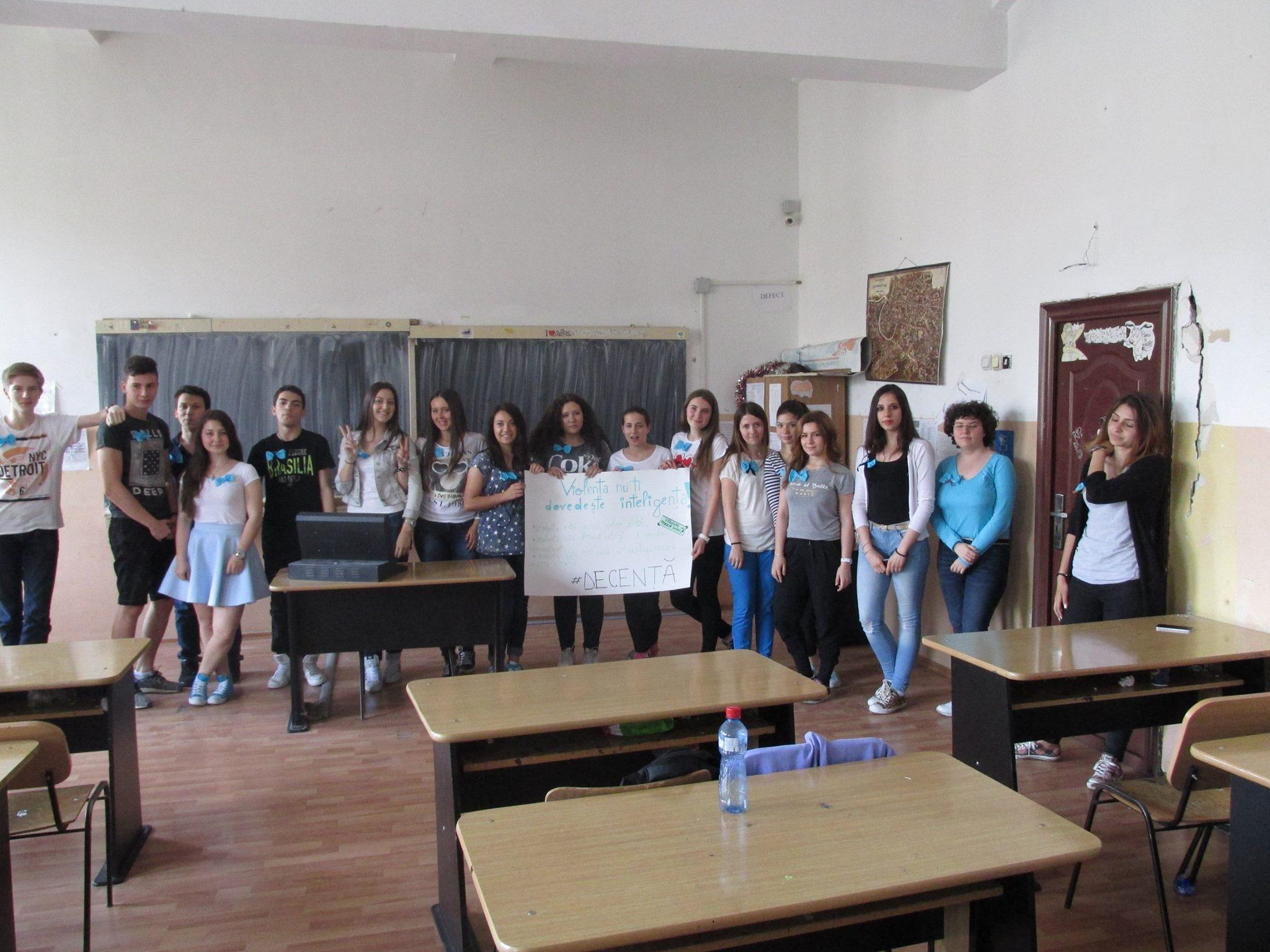 18 Proiect Viata fara Violena - Ana Hristea - clasa a-IX-a B – Colegiul National Mihai Eminescu