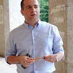 2 foto-interviu Dl. Eugen Chelemen - Redactor sef Romania TV