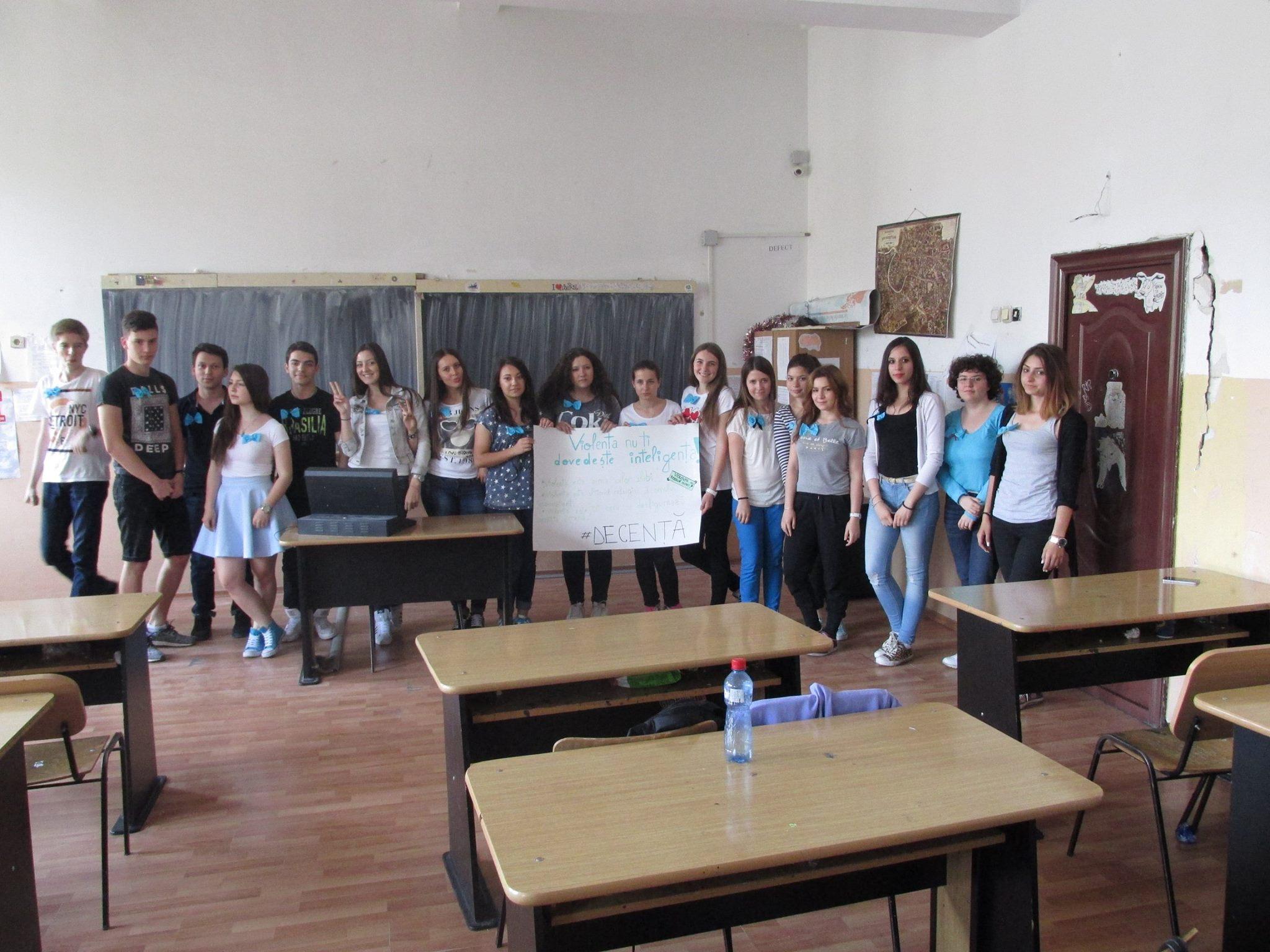 22 Proiect Viata fara Violena - Ana Hristea - clasa a-IX-a B – Colegiul National Mihai Eminescu