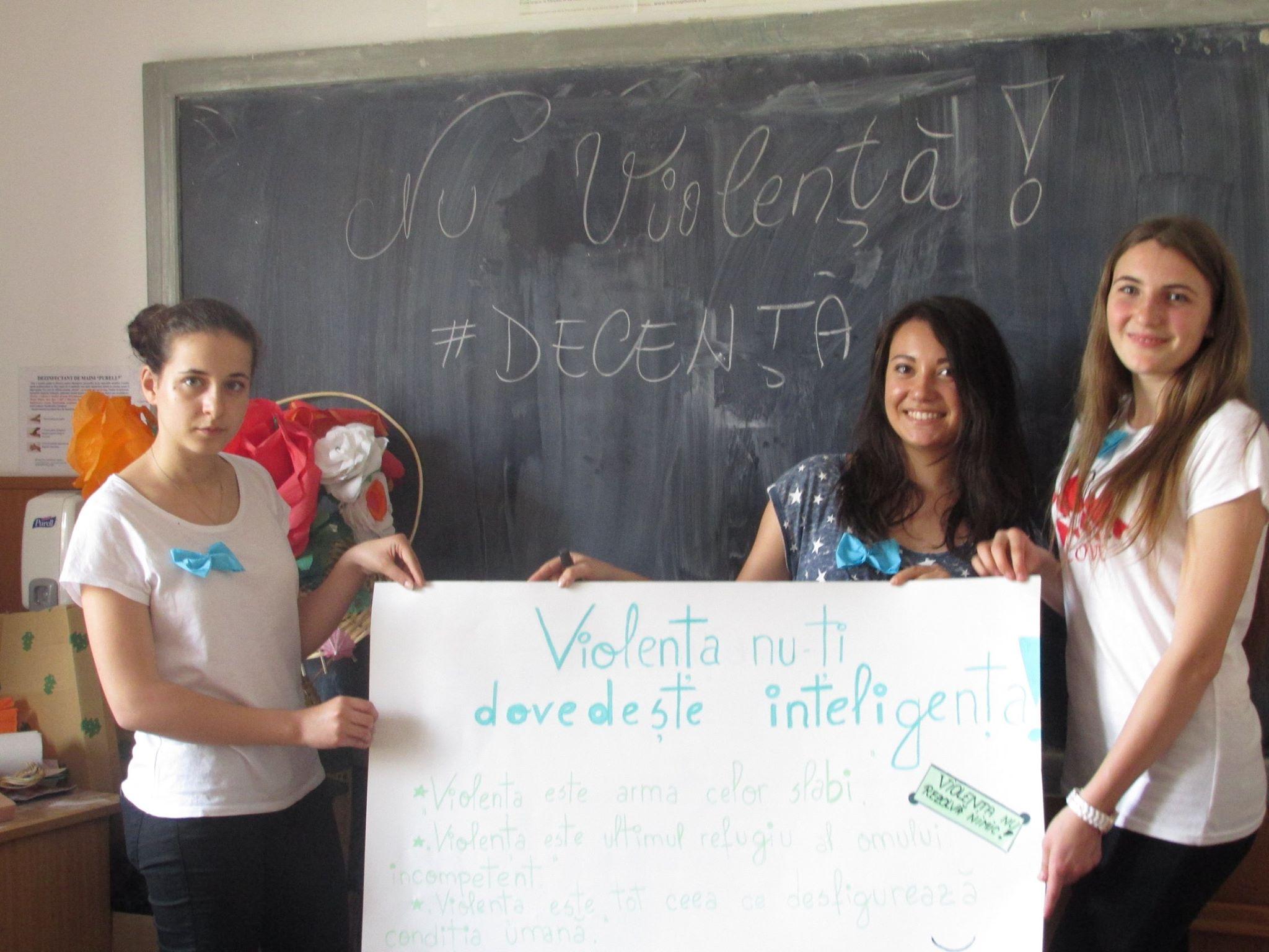 28 Proiect Viata fara Violena - Ana Hristea - clasa a-IX-a B – Colegiul National Mihai Eminescu