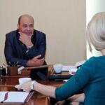 3  Foto-interviu Dl. Comisar sef de politie Voicu Mihai Marius, Director General DGPMB