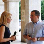 3 foto-interviu Dl. Eugen Chelemen - Redactor sef Romania TV