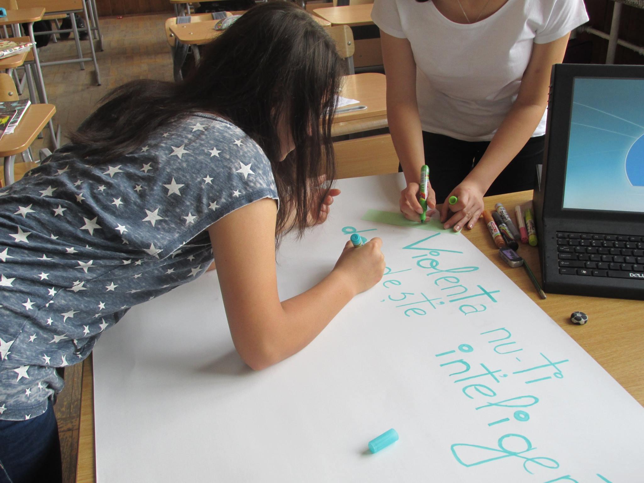32 Proiect Viata fara Violena - Ana Hristea - clasa a-IX-a B – Colegiul National Mihai Eminescu