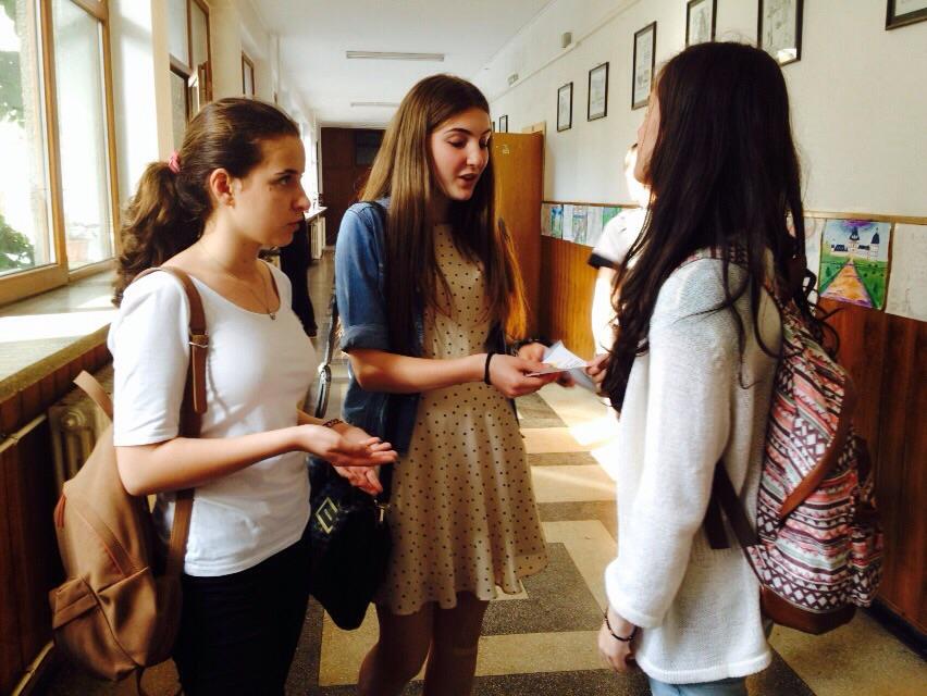33 Proiect Viata fara Violena - Ana Hristea - clasa a-IX-a B – Colegiul National Mihai Eminescu