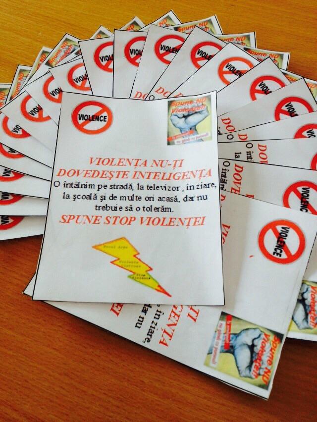34 Proiect Viata fara Violena - Ana Hristea - clasa a-IX-a B – Colegiul National Mihai Eminescu