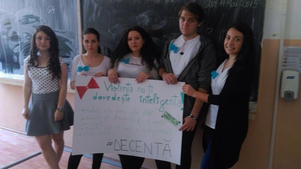 37 Proiect Viata fara Violena - Ana Hristea - clasa a-IX-a B – Colegiul National Mihai Eminescu