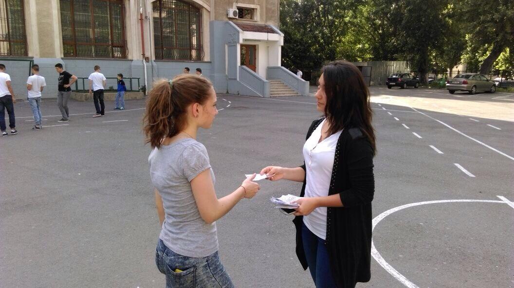 43 Proiect Viata fara Violena - Ana Hristea - clasa a-IX-a B – Colegiul National Mihai Eminescu