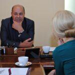 5  Foto-interviu Dl. Comisar sef de politie Voicu Mihai Marius, Director General DGPMB