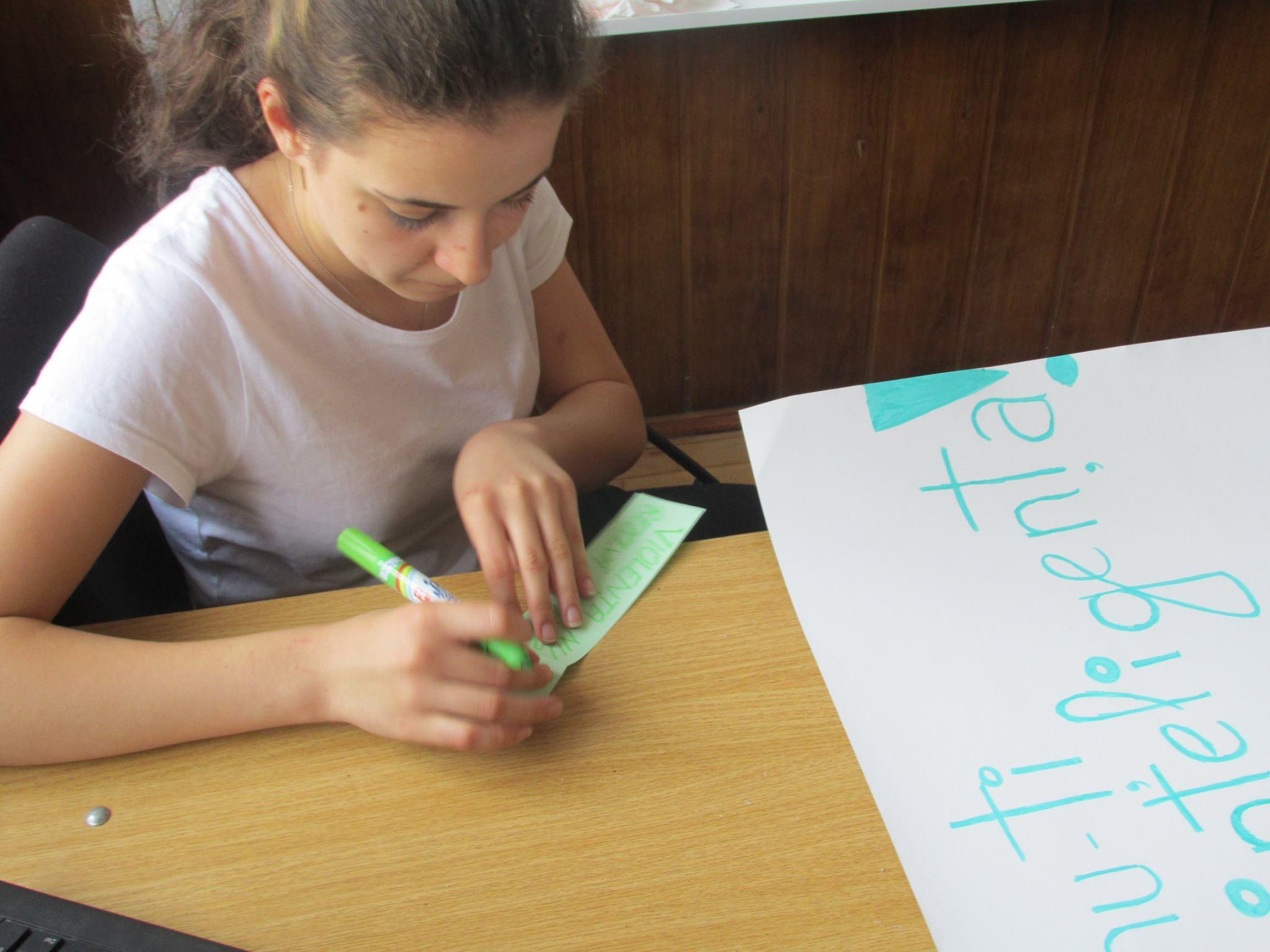 6 Proiect Viata fara Violena - Ana Hristea - clasa a-IX-a B – Colegiul National Mihai Eminescu