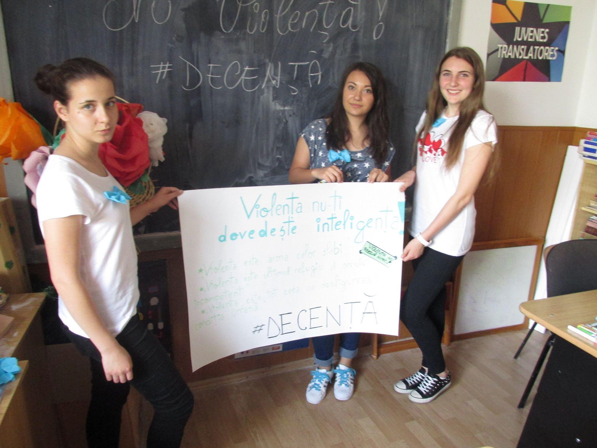 7 Proiect Viata fara Violena - Ana Hristea - clasa a-IX-a B – Colegiul National Mihai Eminescu