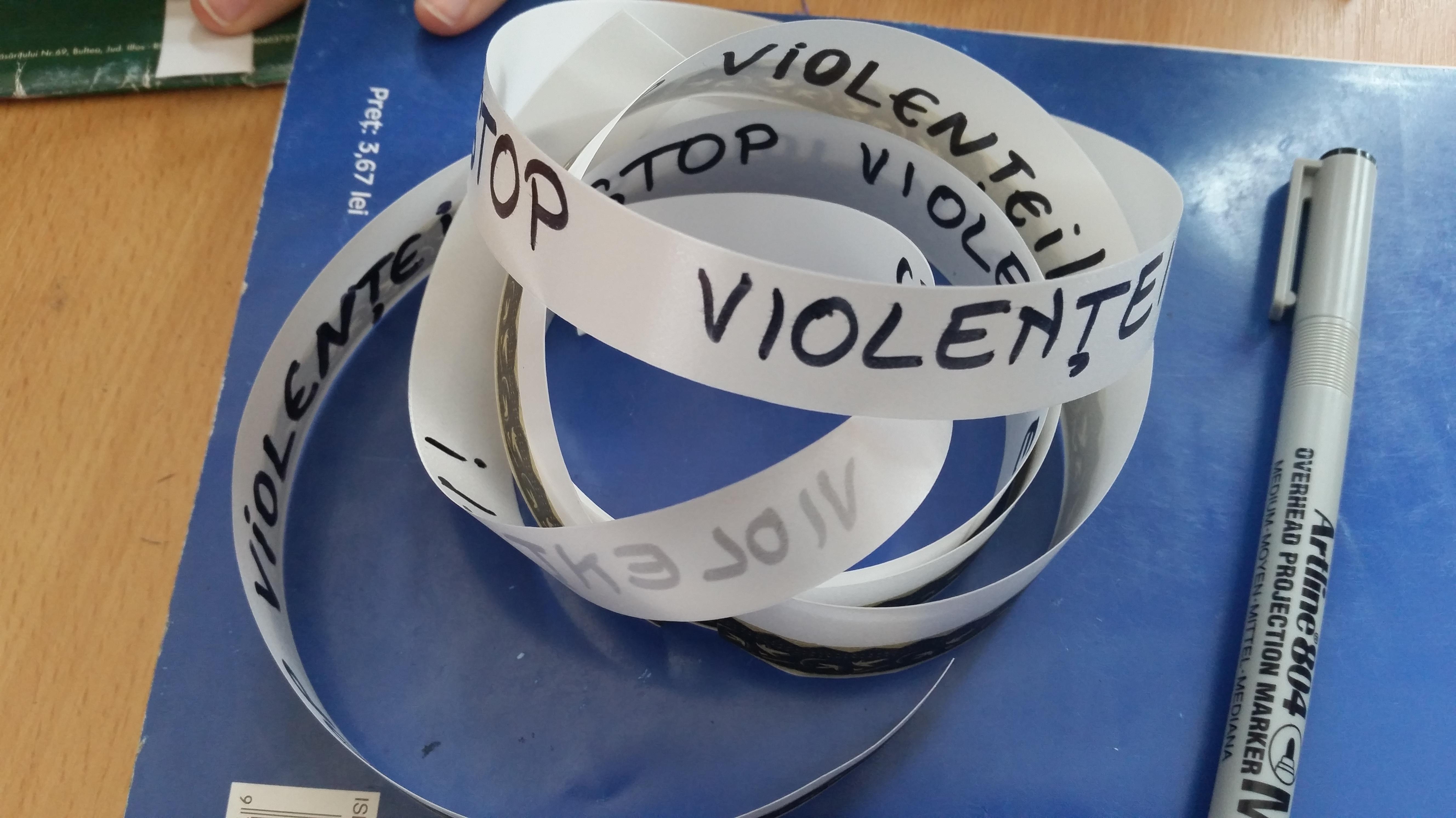 7 Proiect Viata fara Violena - Daria Belei - clasa a-IX-a B - Colegiul National Mihai Eminescu
