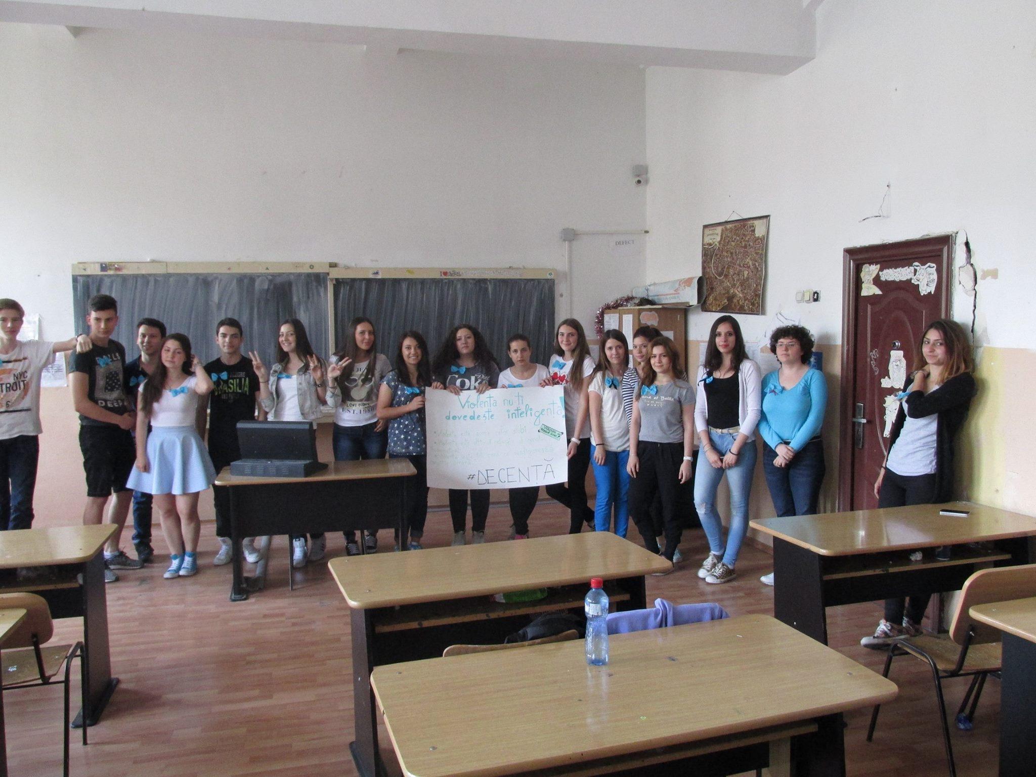 8 Proiect Viata fara Violena - Ana Hristea - clasa a-IX-a B – Colegiul National Mihai Eminescu