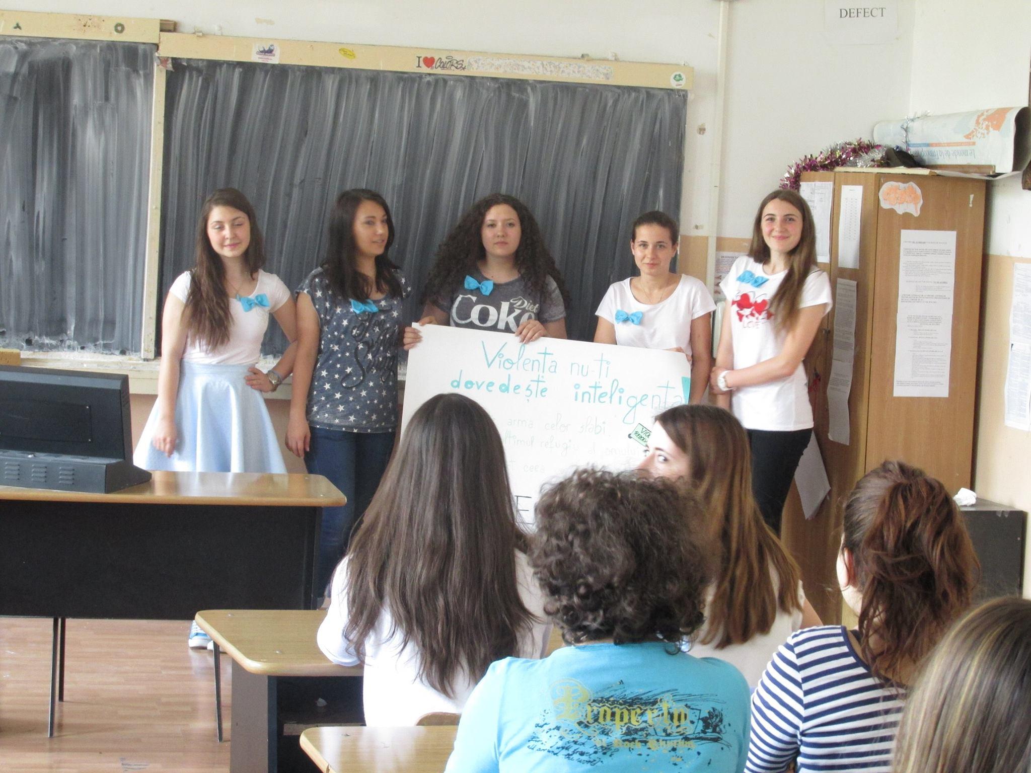 9 Proiect Viata fara Violena - Ana Hristea - clasa a-IX-a B – Colegiul National Mihai Eminescu