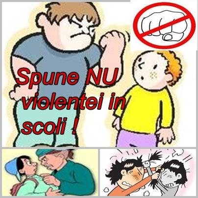 Stop violenta in scoli!