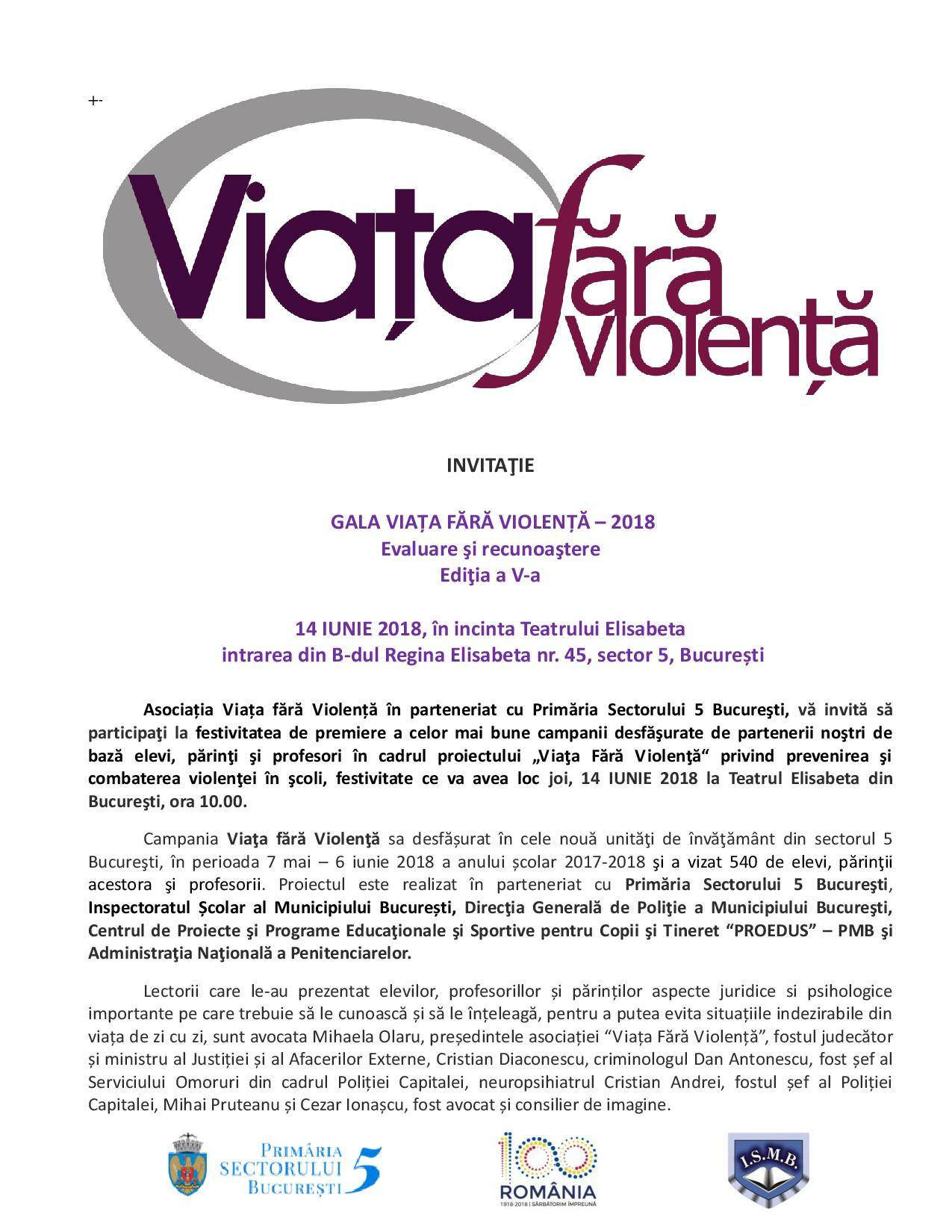 INVITATIE VIATA FARA VIOLENTA - 14 IUNIE 2018-page-001