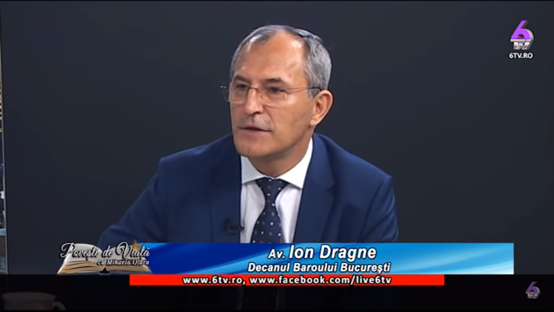10. Avocat Ion Dragne - Decanul Baroului București
