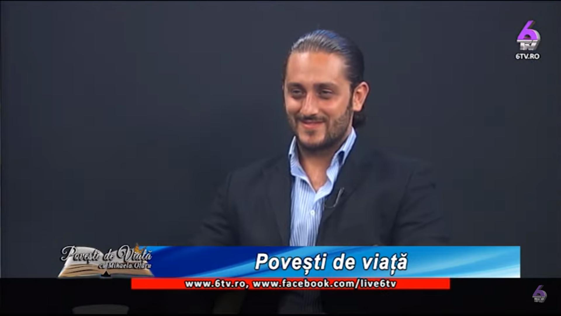 24. Hairstylist Alexandru Arambașa