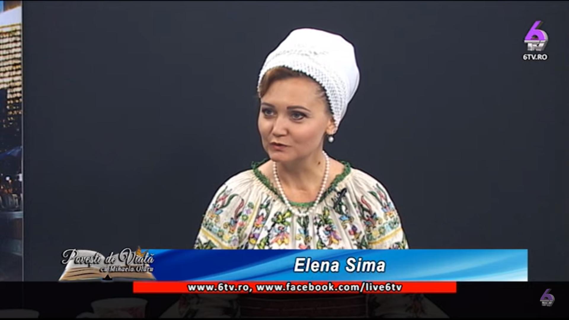 25. Solist muzică populară Elena Sima