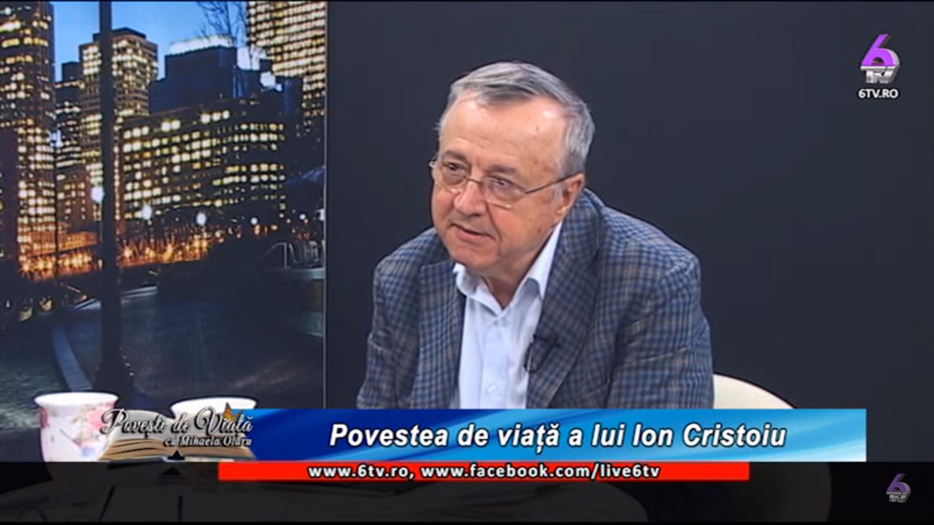 interviu: Jurnalistul și scriitorul Ion Cristoiu